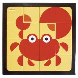 Puzzle Crabe
