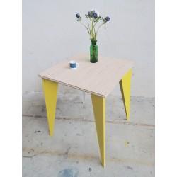 Table bistrot carrée papillon