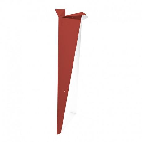 Pied papillon 72 cm-Coquelicot-Profil